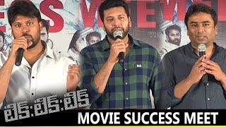 Tik Tik Tik Movie Success Meet | Jayam Ravi, Nivetha Pethuraj | Latest Cinema News
