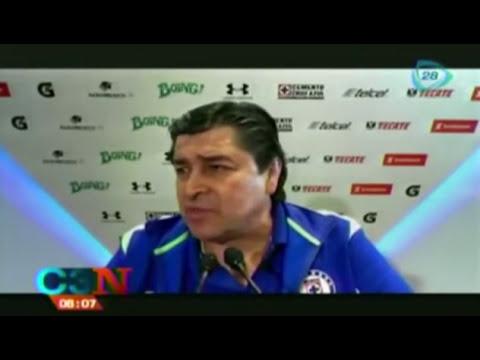 Luis Fernando Tena confía en la calidad futbolística de Cruz Azul