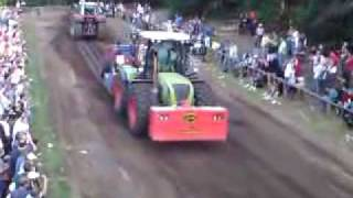 Claas Xerion 3800 in Banzkow beim Trecker Treck