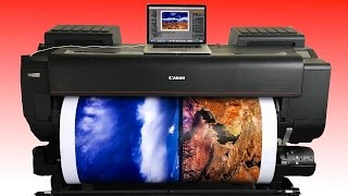 Making A BIG ASS 44x62 inch Print on the Canon Pro 4000 inkjet printer: Quick Look