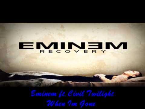 Eminem Ft Civil Twilight - When I'm Gone video