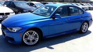 NEW BMW 328D 50 MPG Diesel M Sport Walk Around  Car Review