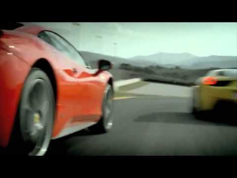 Ferrari 458 Best Car Commercial Engine Start Exhaust Sound Classic - New Carjam Radio 2011