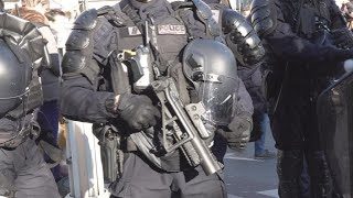 French police brutality under scrutiny