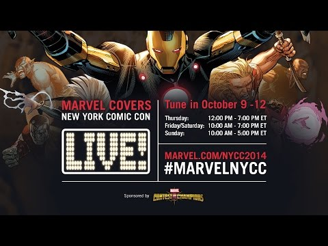 Marvel LIVE! at New York Comic Con 2014- Day 2