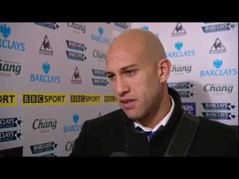 Everton Goalkeeper Tim Howard Scores A Goal From His Own Penalty Box (Everton vs Bolton 1-2)