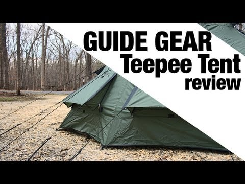 EXCLUSIVE: Guide Gear Teepee Tent Review