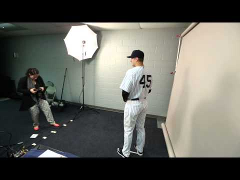 Behind The Scenes At Yankees Media Day