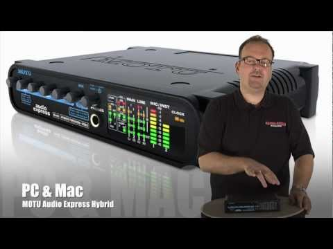 Motu Audio Express Hybrid USB / FireWire Interface
