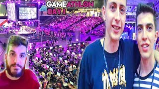 GameAthlon 2018 Day 1 - Πολλοί YouTubers (VLOG 2/4) #Internet4u