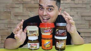 OS CONCORRENTES DA NUTELLA - Qual é o Melhor?