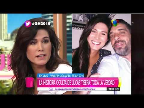 Valeria Licciardi reconoció que le gusta Lucas Tisera, ex pareja de Lizy Tagliani