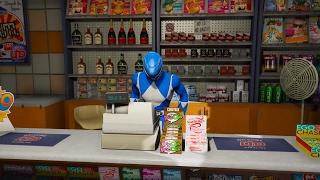 GTA 5 - 5 anh em siêu nhân Gao đi cướp tiệm tạp hóa ven đường   ND Gaming