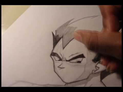 Dragon Ball z Characters Drawings in Pencil Drawing Vegeta Dragon Ball z