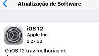 Apple liberou o IOS 12 GM BETA..publico geral ja tem data.