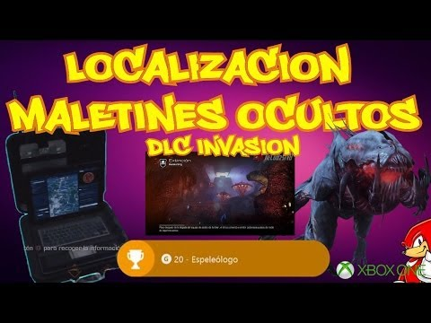 Ghosts Extincion Awakening DLC Invasion Localizaciones Maletines Ocultos XBOX ONE - By ReCoB