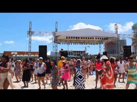 Tom Joyner Fantastic Cruise Beach Party in Nassau, 2013