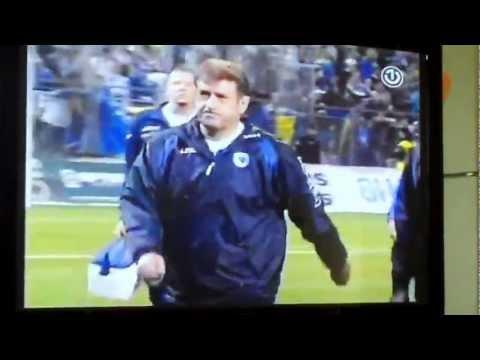 Bosna - Latvia  Bosnia and Herzegovina- Latvia BOSNA-LITVANIJA Izlazak Safet Susic Pape...