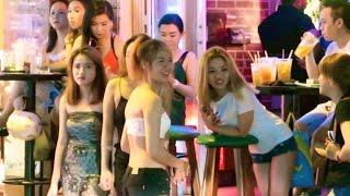 Vietnam Nightlife 2017  Vlog 150 Bars Cheap Beer Girls