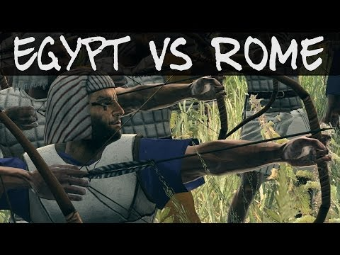 Total War Rome 2 Online Battle 84 Egypt vs Rome