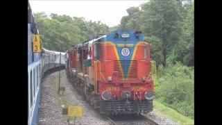 Goa to Hyderabad via Dudhsagar Falls: Full Journey Compilation