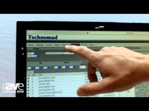 InfoComm 2015: Technomad Features Schedulon Audio Player/Recorder
