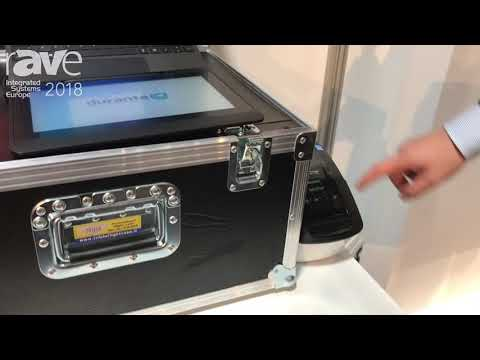 ISE 2018: Durante Exhibits Easy Visit Check-In System