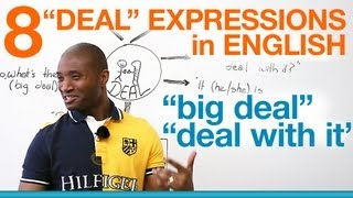 Speaking English - DEAL expressions -