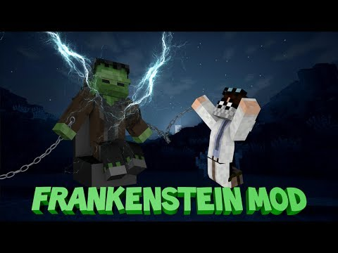 Minecraft: FRANKENSTEIN MOD - Release The Monster!