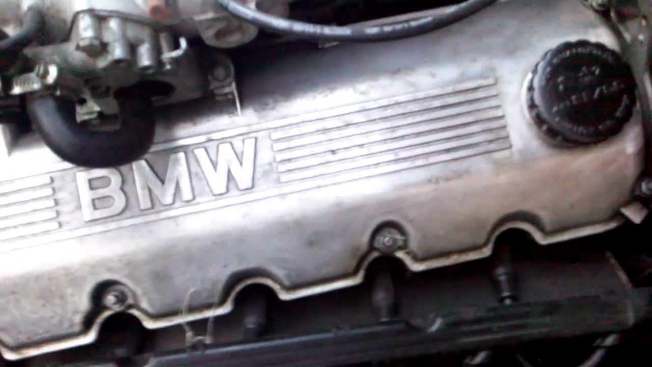 Bmw E30 320i 1986 M20 Engine Strange Noise Youtube