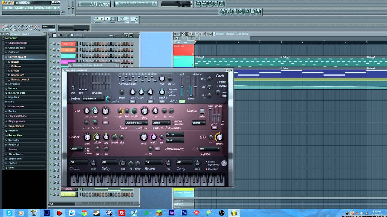 FL Studio: Wobble Bass Effect - YouTube