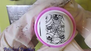 Aliexpress SPH-008 Nail Art Stamping Halloween Plate Part 3 of 3