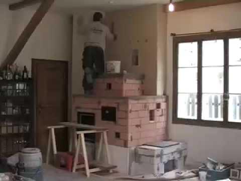 Kachelofen bauen