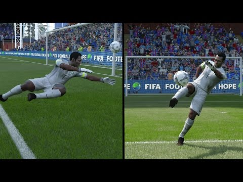 FIFA 16 - PELE PLAYING GOALKEEPER!