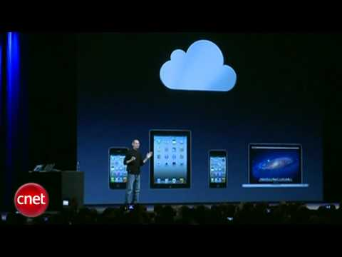 CNET News: Steve Jobs introduces iCloud