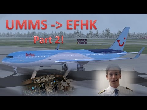 VATSIM: IFR Flight Example: Minsk to Helsinki! [Part 2 - The Flight]