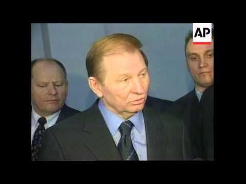 Ukraine: Kuchma: Ukrainian president Leonid Kuchma