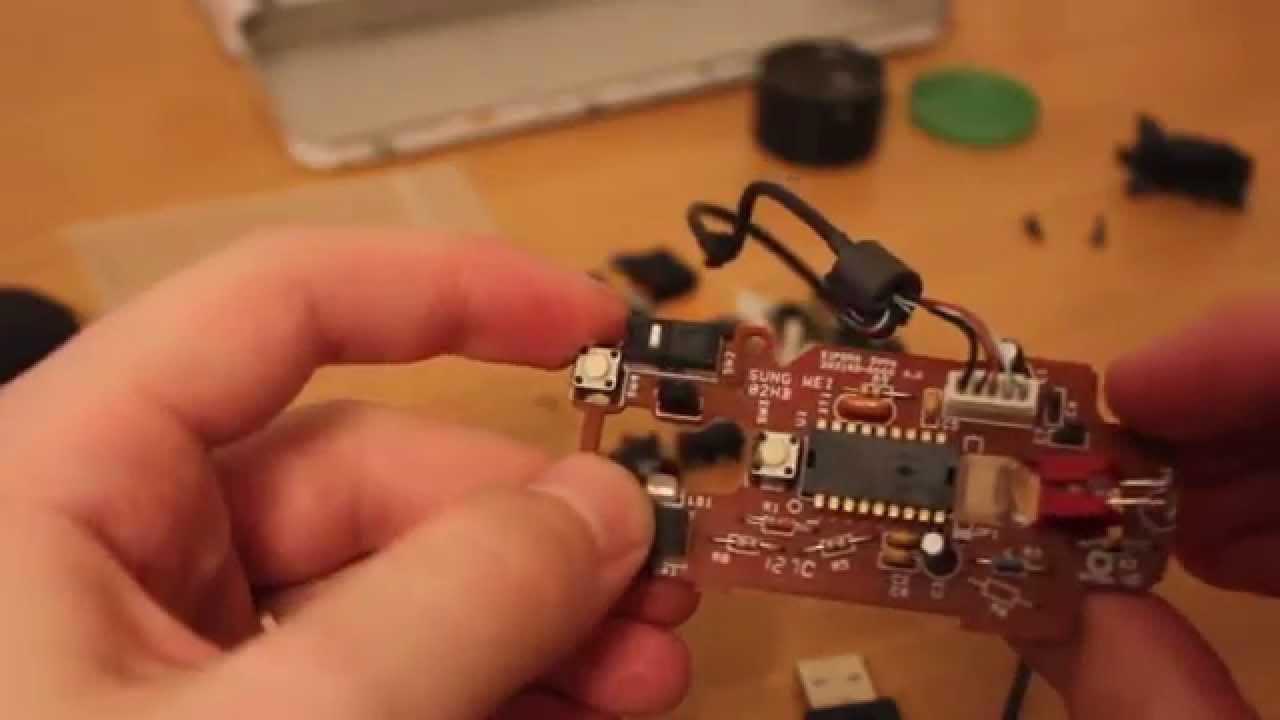 Мышка ремонт своими руками 9
