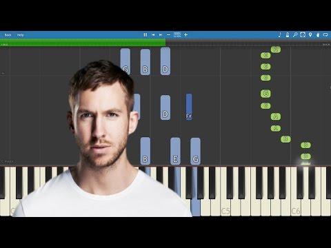 Calvin Harris - My Way - Piano Tutorial
