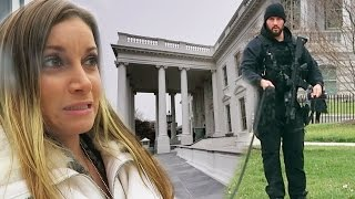 TROUBLE AT THE WHITE HOUSE!