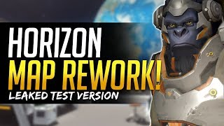 Overwatch HORIZON MAP REWORK! Leaked Map Changes