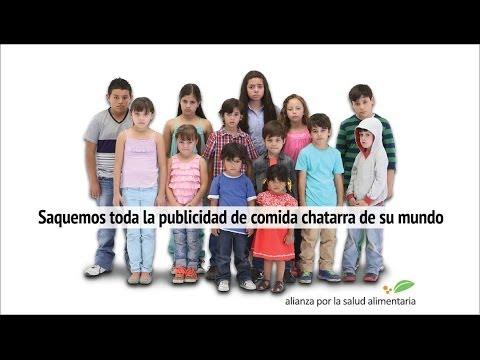 Nuestros niños son primero - Saquemos toda la publicidad de comida chatarra de su mundo