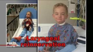 Doctor saves boys life, then restores his ability to speak
