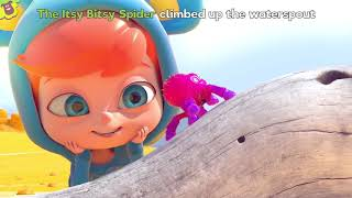 Itsy Bitsy Spider   Cute Songs for Children