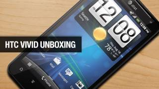 HTC Vivid Unboxing (4G LTE for AT&T)