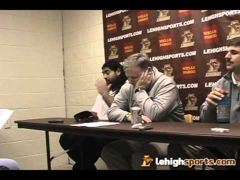 Lehigh-Colgate Postgame Press Conference: Nov. 10, 2012