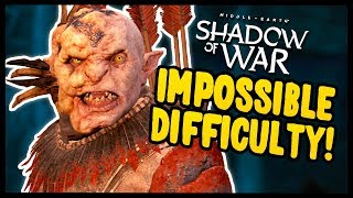 GRAVEWALKER DIFFICULTY IS IMPOSSIBLE! | Middle Earth: Shadow of War - Gameplay Funny Moments