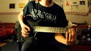 Halestorm I Bet you wish you had me back Guitar Cover