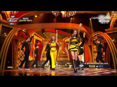 Snsd-tts - Holler (sep 18, 2014) video