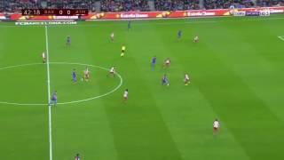 أهداف مباراة برشلونة ضد أتلتيكو مدريد يوم (7/2/2017)